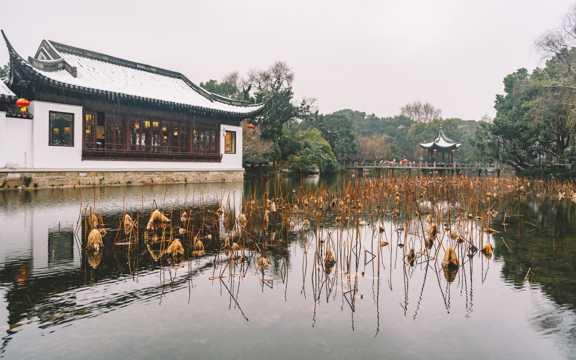 中国古典园林建筑景观