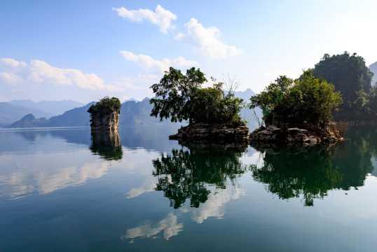 越南三海湖风光
