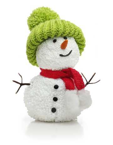 可爱的小雪人