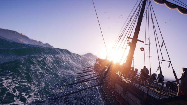 航海中的太阳