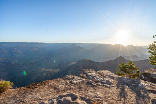 大峡谷朝阳景观图片