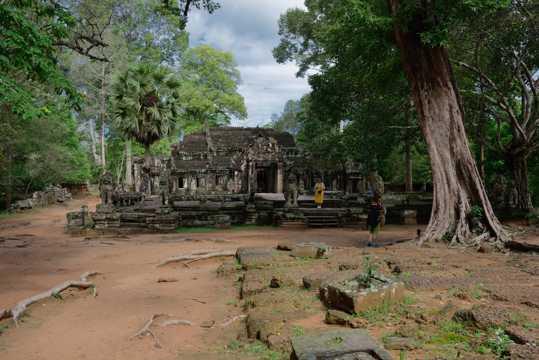 柬埔寨斑黛喀蒂寺风光图片