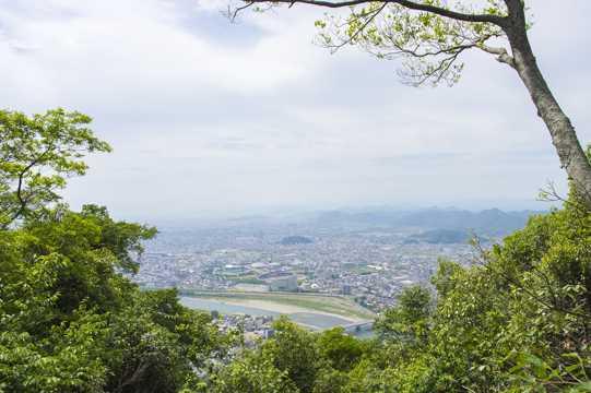 日本树林之国岐阜县风景