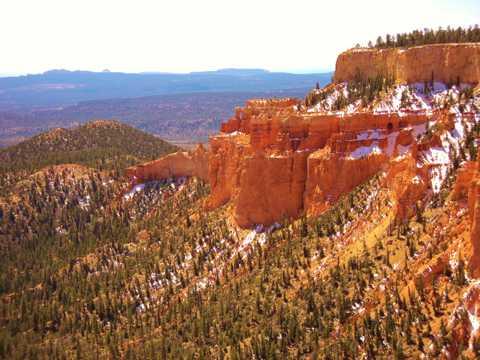 美国布莱斯峡谷光景图片