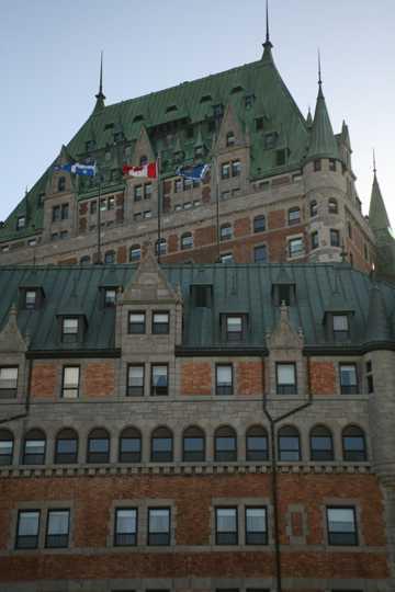 加拿大芳堤娜城堡图片