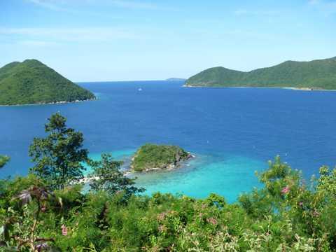 加勒比海风景图片