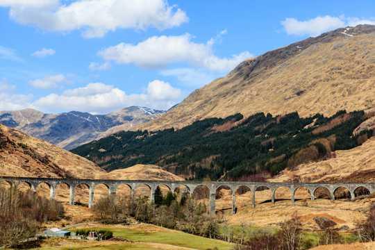 辽阔的苏格兰高地图片
