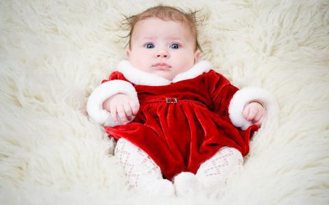 可爱的可爱的女婴