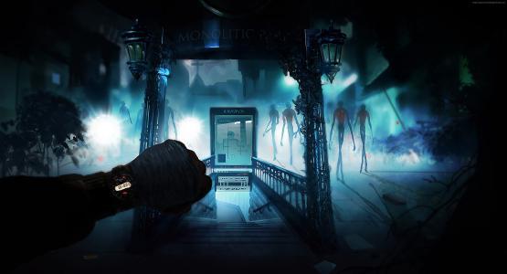 嗡嗡声:绑架,最佳游戏2015,生存恐怖,独立,科学,外星人,PC,PS4,截图(水平)