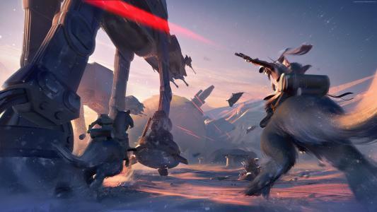 星球大战:前线II,4k,截图,E3 2017(水平)