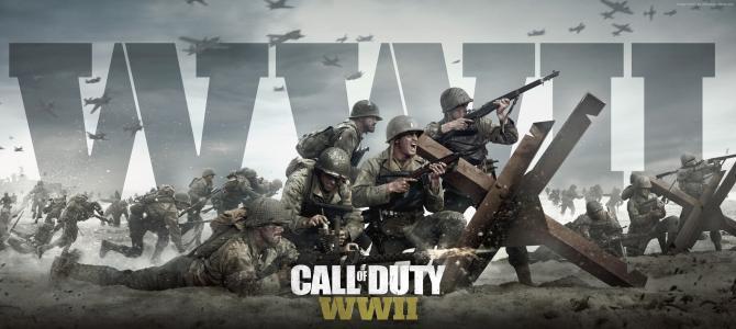 使命召唤:WW2,4k,5k,海报,E3 2017(水平)