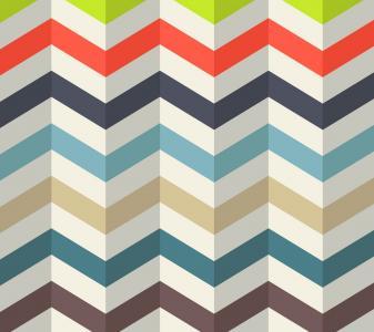 模式,华美,现代,材料,折叠纸,高清