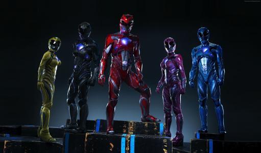 电力别动队,团队,超级英雄(水平)