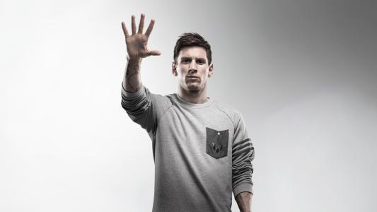 梅西,西班牙俱乐部,巴塞罗那,阿根廷,足球,足球运动员,5K