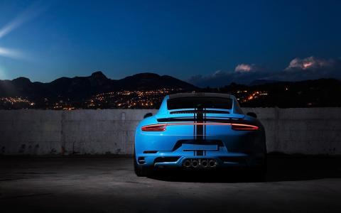 TechArt,保时捷911,Coupe,2016