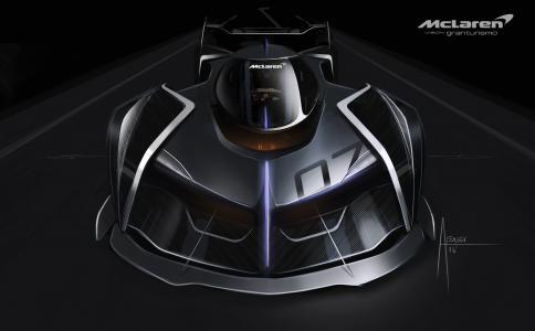 迈凯轮旗舰版Vision GT,Gran Turismo Sport,PlayStation 4,4K