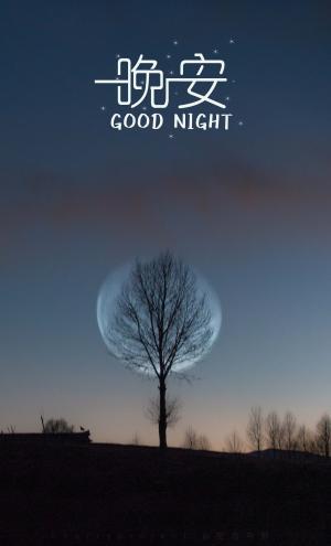 夜已深了,晚安各位
