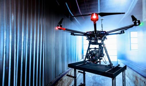 DJI Matrice 600飞行平台,无人机,四轴飞行器,幻影,审查,测试(水平)