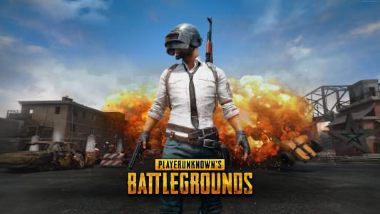 Playerunknown的战场,4k,E3 2017,海报(水平)