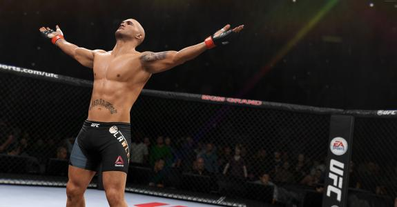 EA体育UFC 2,最佳游戏,战斗,PlayStation 4,Xbox One(水平)