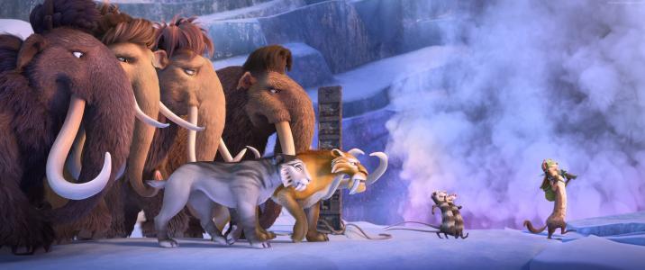 冰河世纪5:碰撞球场,猛犸象,2016年最佳动画(水平)