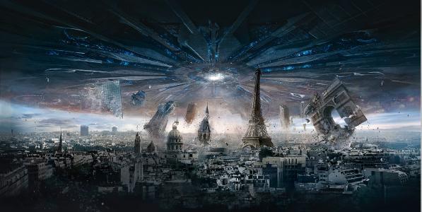 巴黎,独立日,复兴,4 k