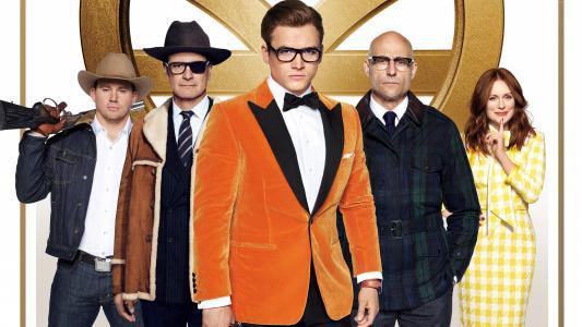 Kingsman:黄金圈,Colin Firth,Taron Egerton,5k(水平)