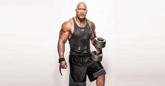 德维恩·约翰逊,岩石,重量,锻炼,4K,8K