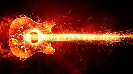 燃烧的吉他