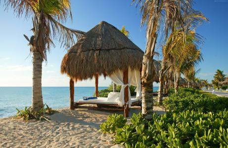 墨西哥的卡里斯马埃尔多拉多皇家温泉度假村,2017年,旅游,旅游,度假,度假,海滩(水平)