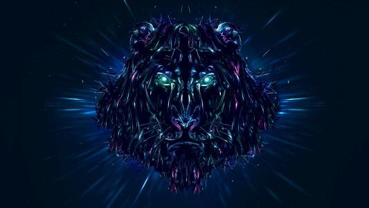 狮子,图稿,CGI,高清