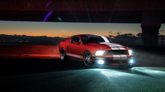 福特野马谢尔比GT500 4K