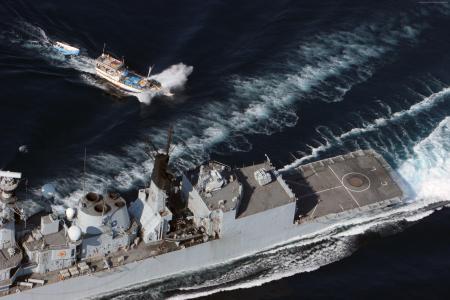 HMS Cumberland,F85,护卫舰,22型,皇家海军,索马里,海盗,母舰(水平)