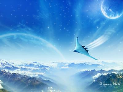 梦幻般的喷气世界