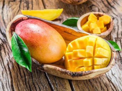 芒果,水果,8k(水平)