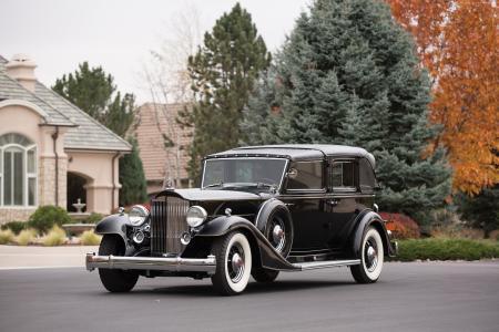 帕卡德十二,复古,帕卡德,老爷车,前线,豪华车,跑车,租赁,购买(横向)