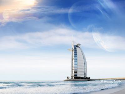 迪拜梦幻般的世界