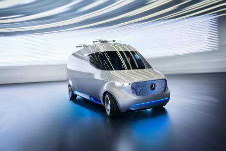 奔驰Vision Van,Vision Van,银色(水平)