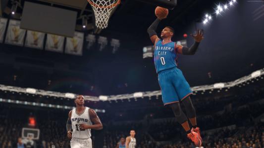 NBA LIVE 18,4k,截图,E3 2017(水平)
