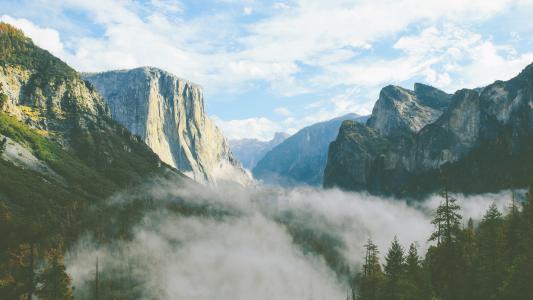 优胜美地山谷,El Capitan峰会,加州优胜美地国家公园