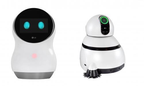 LG Hub Robot,LG清洁机器人,CES 2017,最佳机器人(水平)