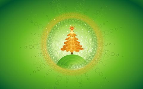 美丽的圣诞树设计