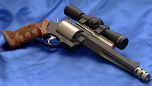 Smith and Wesson, S&W, Model 500 (horizontal)