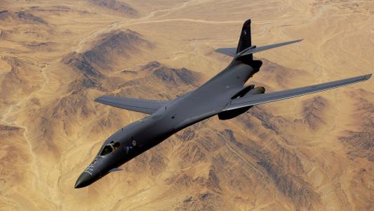B-1,蓝瑟,超音速,战略轰炸机,罗克韦尔,美国空军,波音(横)