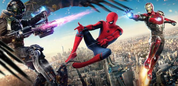 蜘蛛侠:回归,蜘蛛侠,秃鹫,钢铁侠,4K,8K