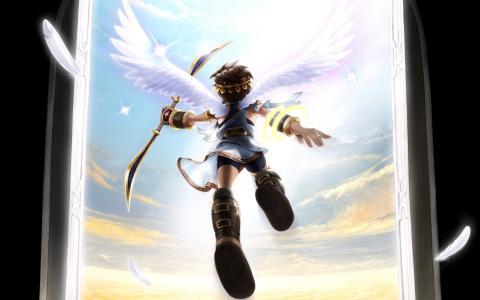孩子伊卡洛斯起义任天堂3DS