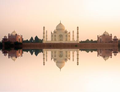 泰姬陵,印度,寺庙,城堡,旅游,旅游(横向)