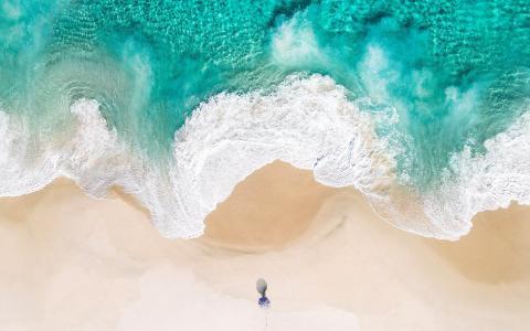 海滩iOS 10股票高清