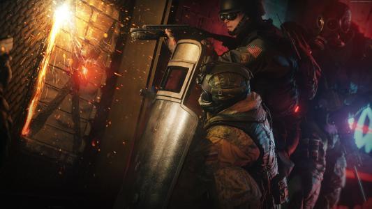 彩虹六号:围攻,最佳游戏,射手,FPS,PC,PS4,Xbox One(水平)