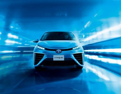 丰田未来,氢,丰田,电动车,2015年最佳电动车,前,ecosafe,概念,审查,试驾,2015年底特律车展。